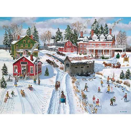 School's Out 1000 Piece Jigsaw Puzzle