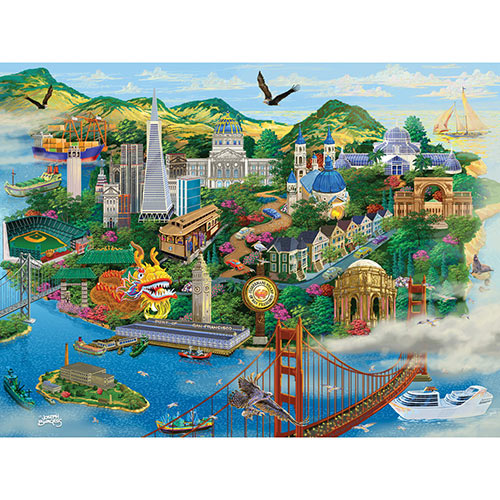 San Francisco 300 Large Piece Jigsaw Puzzle