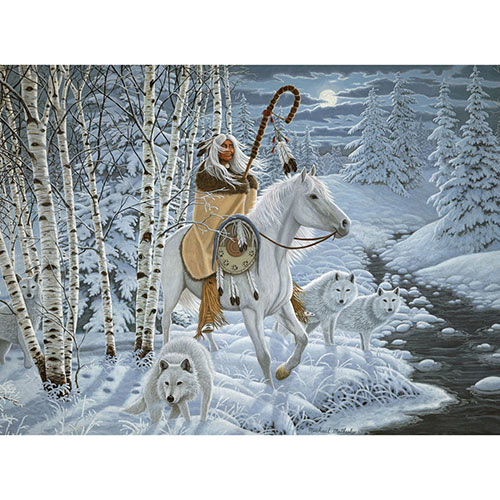 Whispering Wind 300 Large Piece Wood Jigsaw Puzzle