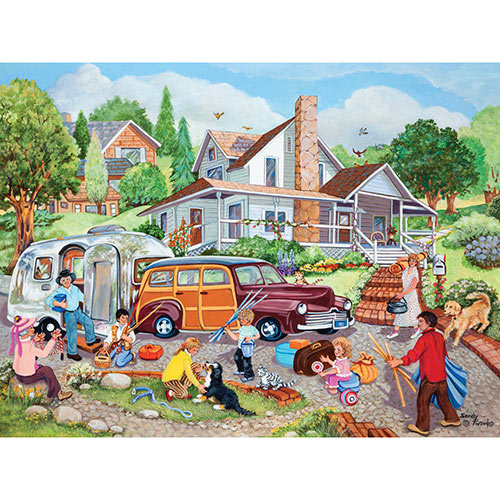 Departure Day 300 Large Piece Jigsaw Puzzle