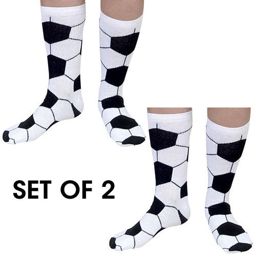 Set of 2 pairs: Soccer Socks
