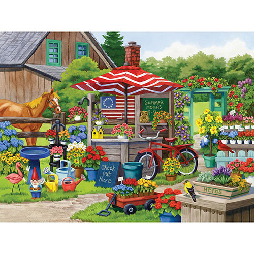 Country Charm 500 Piece Jigsaw Puzzle