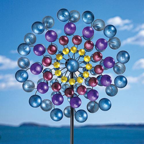 Spectrum Metallic Wind Spinner