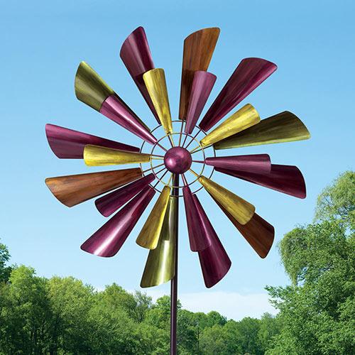Autumn Palette Wind Spinner