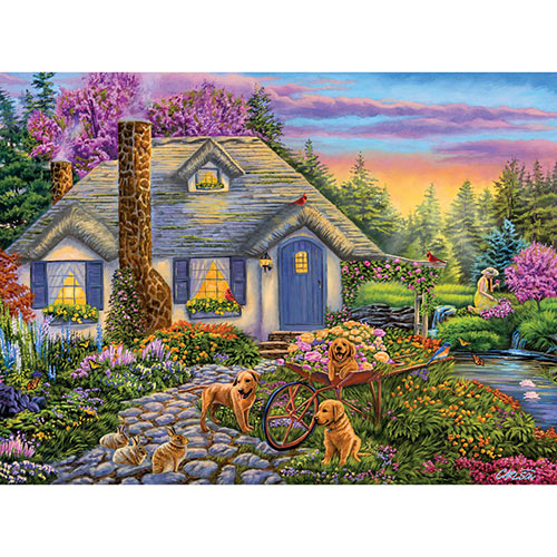 Morning Glory 500 Piece Jigsaw Puzzle