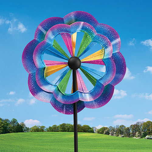 Carnival Colors Wind Spinner