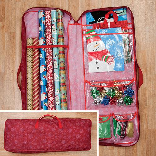 Gift Wrap Storage Bag