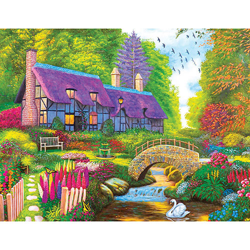Kodak Dream Cottage Retreat 550 Piece Jigsaw Puzzle