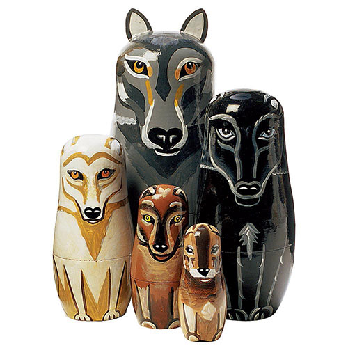 Wolf Pack Animal Set