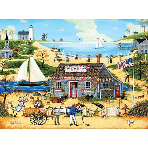 Dizzy Lizzy's Antiques 1000 Piece Jigsaw Puzzle
