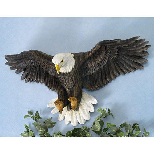 Bald Eagle Wall Sculpture