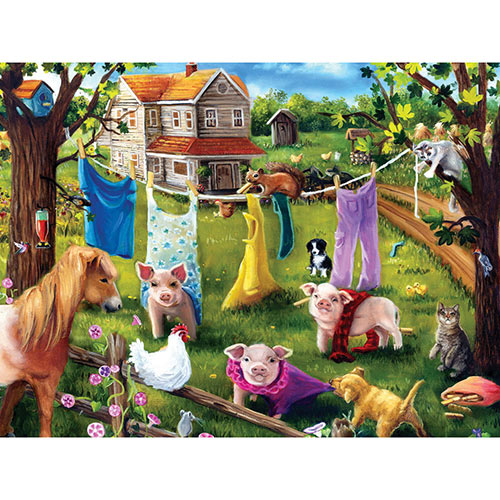 Fashion Show 300 Large Piece Jigsaw Puzzle