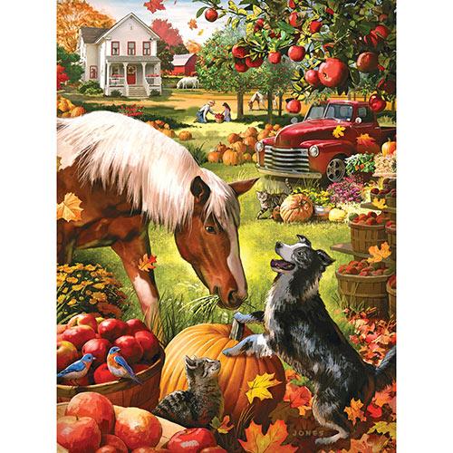 Autumn Farm 300 Large Piece Jigsaw Puzzle