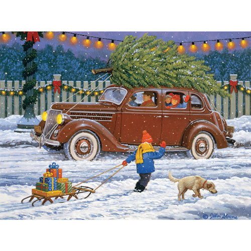 Best Christmas Yet 300 Large Piece Jigsaw Puzzle
