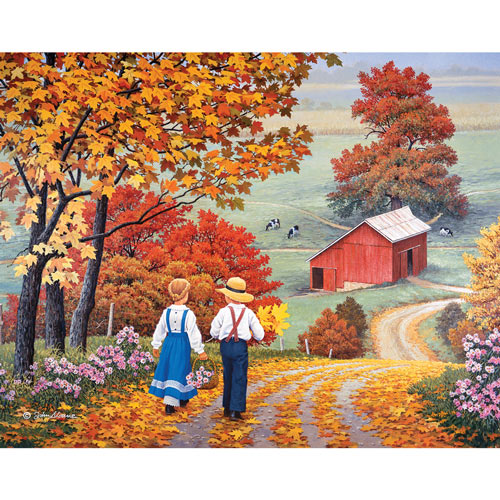 Golden Days 1000 Piece Jigsaw Puzzle