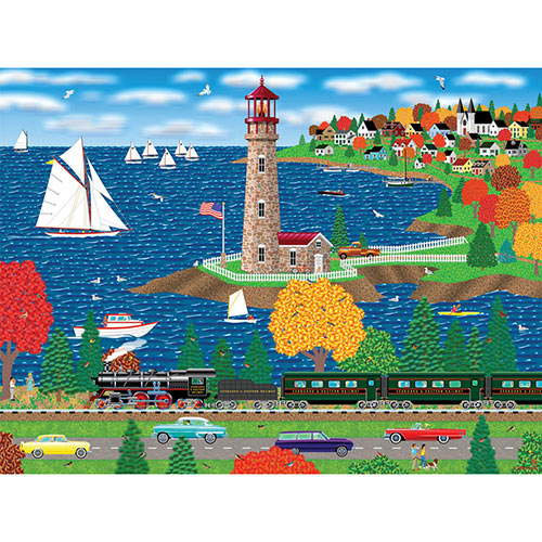 Scallop Shores 300 Large Piece Jigsaw Puzzle