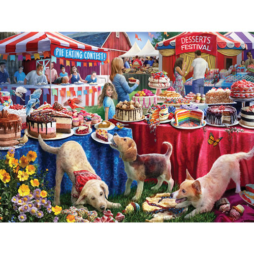 Desserts Festival 500 Piece Jigsaw Puzzle