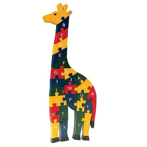 Alphabet Giraffe Puzzle