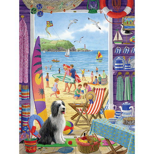 The Beach Shack 500 Piece Jigsaw Puzzle