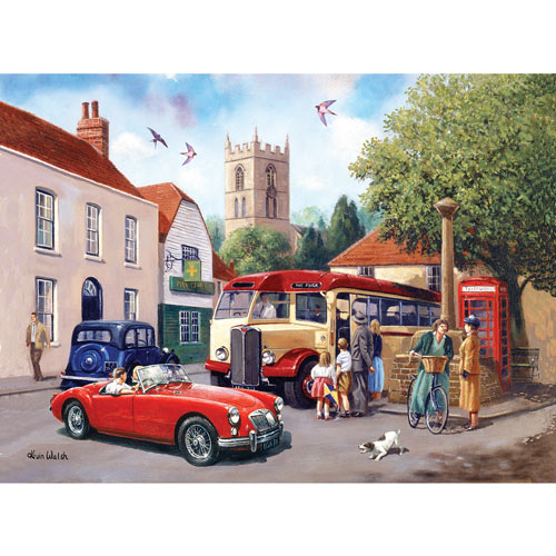 An English Village 500 Piece Jigsaw Puzzle