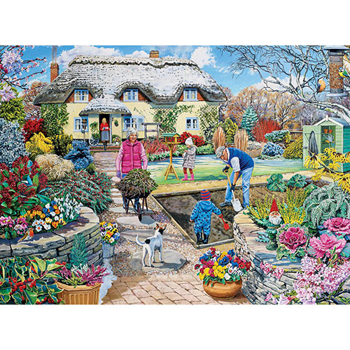 Winter Garden 1000 Piece Jigsaw Puzzle