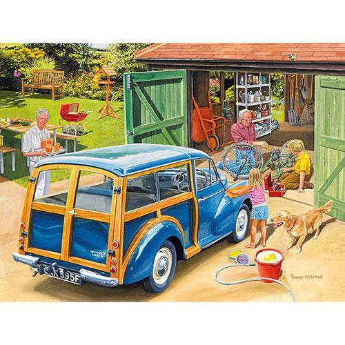 Washing Grandpa's Car 1000 Piece Jigsaw Puzzle