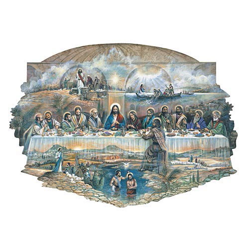 Last Supper 750 Piece Shaped Jigsaw