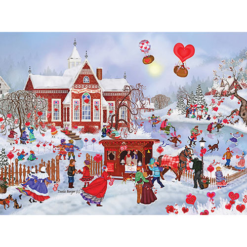 Valentine Friends 1000 Piece Jigsaw Puzzle