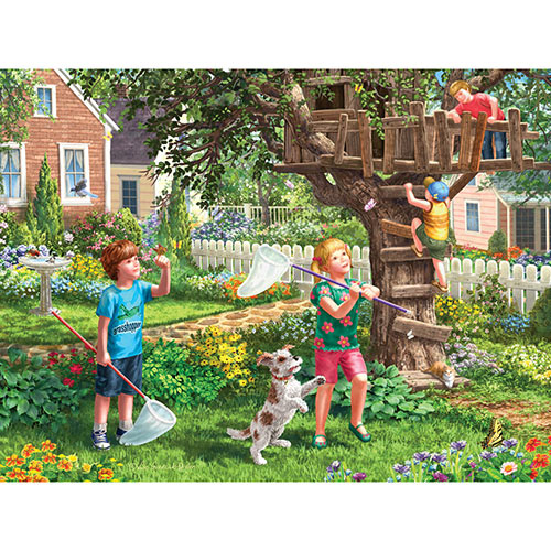 Back Yard Fun 300 Large Piece Jigsaw Puzzle