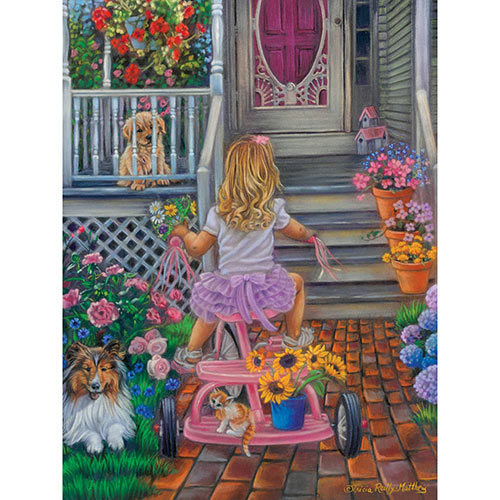 Summers Bouquet 500 Piece Jigsaw Puzzle