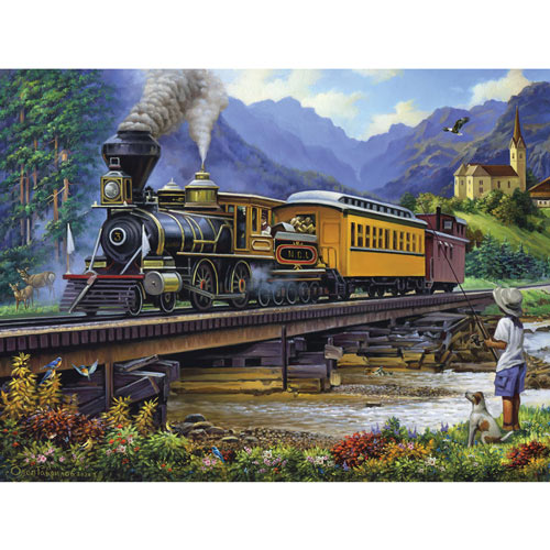 The Fishing Retreat 1000 Piece Jigsaw Puzzle