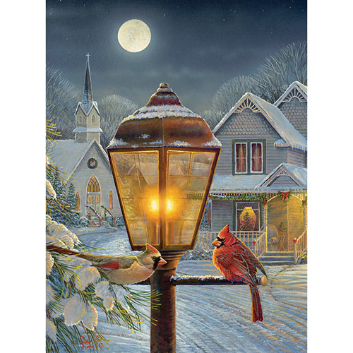 Christmas Lights 1000 Piece Jigsaw Puzzle