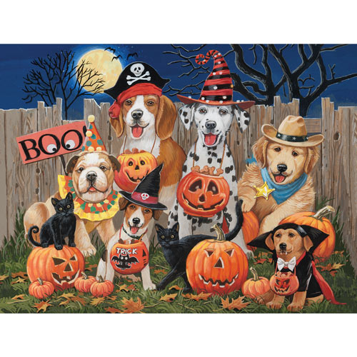 Halloween Tricksters 500 Piece Jigsaw Puzzle