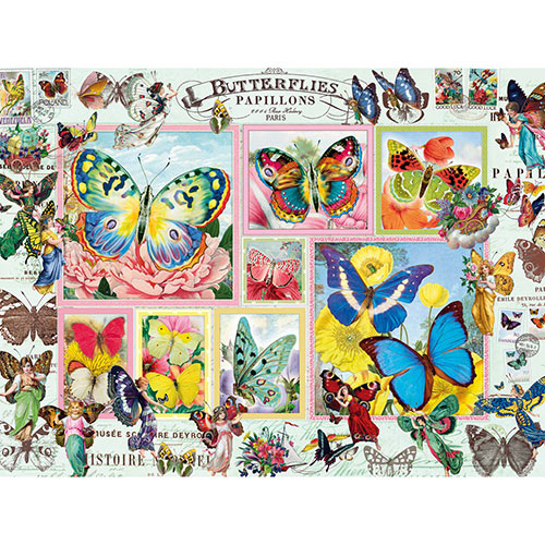 Butterfly Dance 500 Piece Jigsaw Puzzle