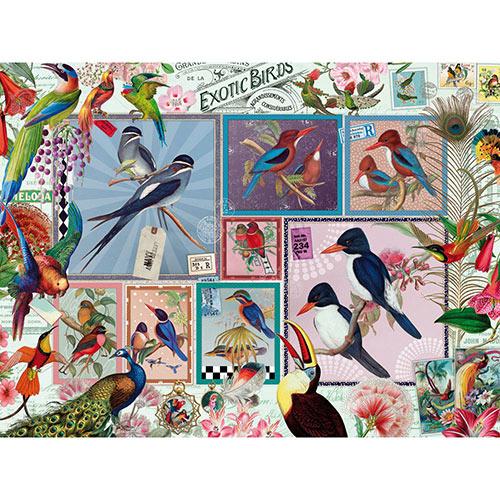 Grand Exotic Birds 500 Piece Jigsaw Puzzle