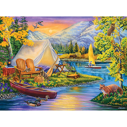 Camping Out 1000 Piece Jigsaw Puzzle