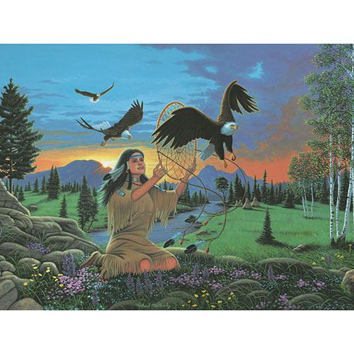 Eagle Dreams 500 Piece Jigsaw Puzzle