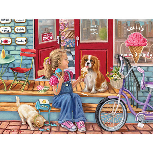 Pay Day Cones 300 Large Piece Jigsaw Puzzle