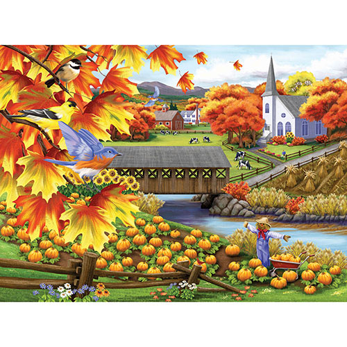 Harvest of Beauty 500 Piece Jigsaw Puzzle