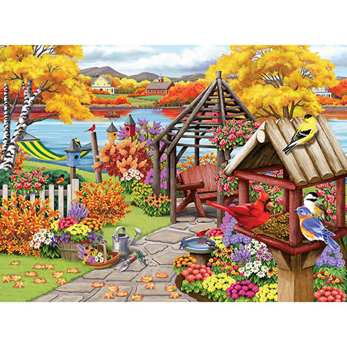 Rustic Garden 500 Piece Jigsaw Puzzle