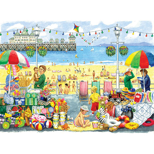 Alphabet Seaside 300 Large Piece Jigsaw Puzzle