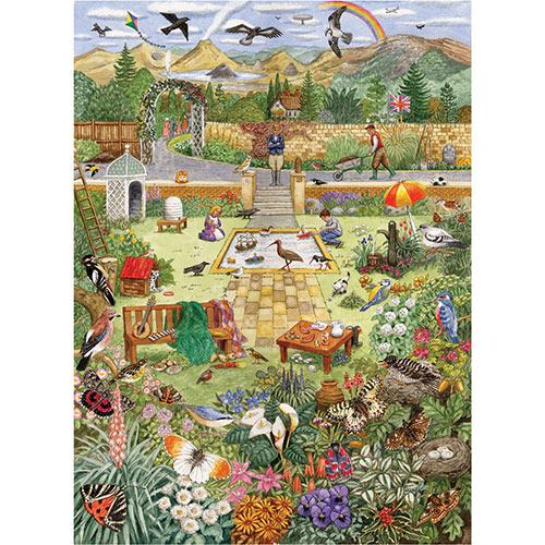 Alphabet Garden 300 Large Piece Jigsaw Puzzle