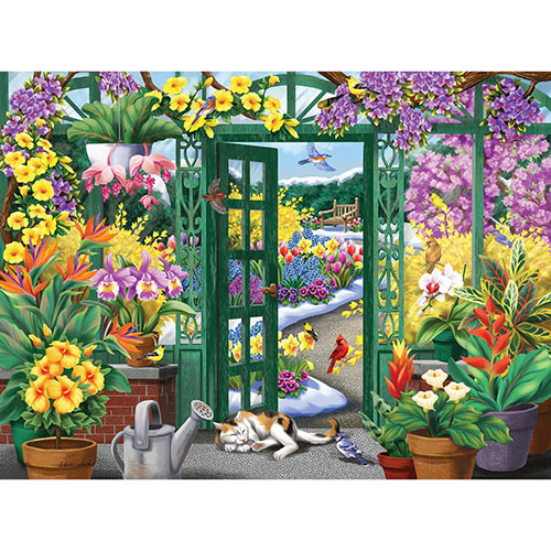 Open to Beauty 1000 Piece Jigsaw Puzzle