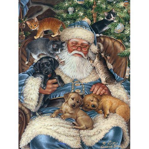 Santa Nap 1000 Piece Jigsaw Puzzle