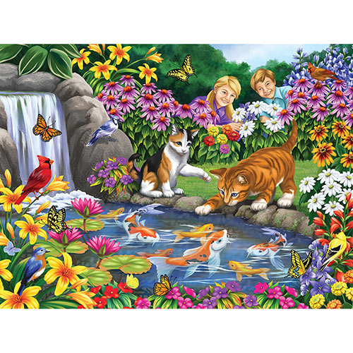Go Fish 500 Piece Jigsaw Puzzle