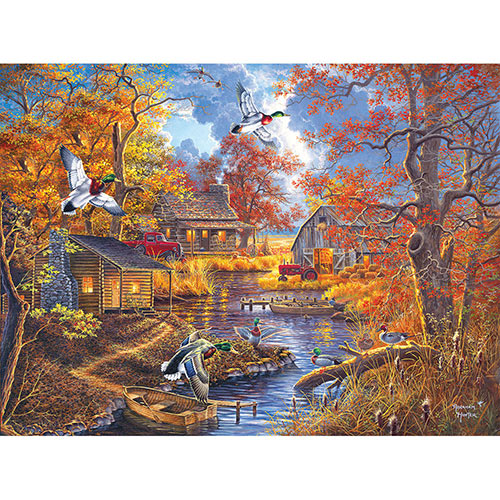 Bayou Haven 300 Large Piece Jigsaw Puzzle