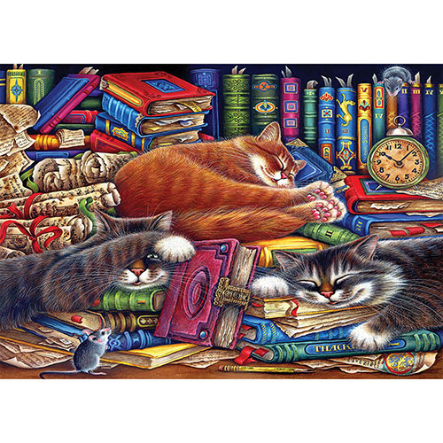 The Old Book Shop 1000 Piece Jigsaw Puzzle
