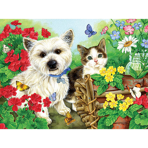 Garden Helpers 300 Large Piece Jigsaw Puzzle