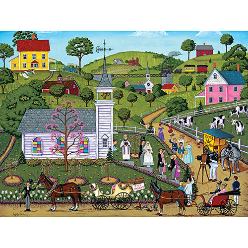 Valley Wedding 300 Large Piece Jigsaw Puzzle
