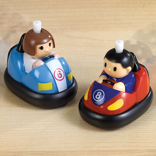 Wind-up Battling Bumper Cars